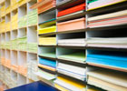 Pace pruint carries a wide selection of paper stock